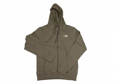 The North Face Open Gate FZ Zip Hoodie Falcon Brown T0CEP7NXL