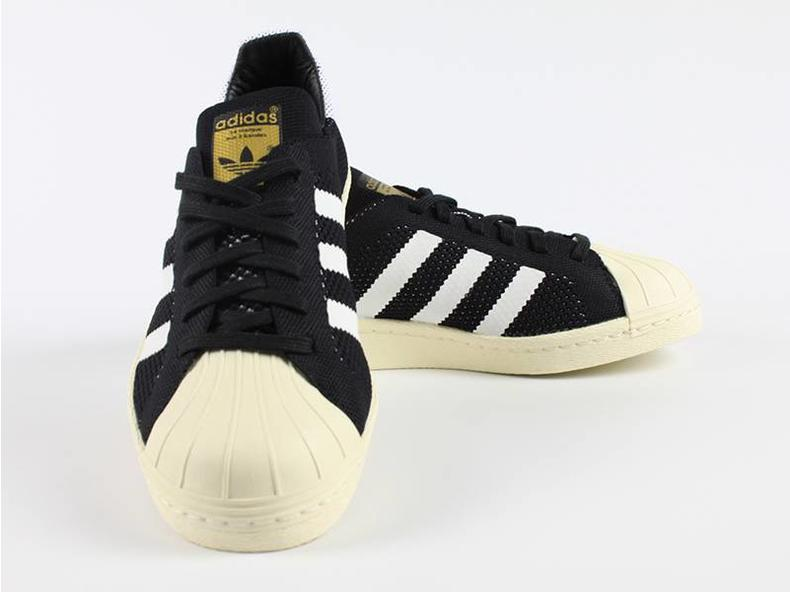 Superstar 80s Primeknit Black/White S82780