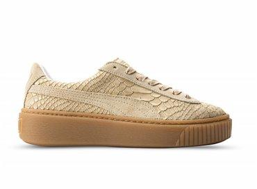 Puma Platform Exotic Skin Natural Vachetta/Gold 363377 02