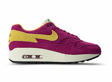 Nike Air Max 1 Premium Dynamic Berry/Vivid Sulfur 875844 500