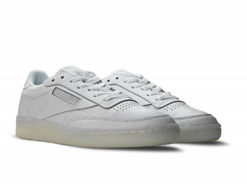 Club C 85 On The Court White Light Solid Grey BD3096