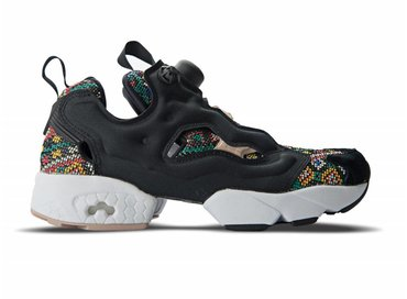 Reebok Instapump Fury GT Black White Dusty Punk BD3095