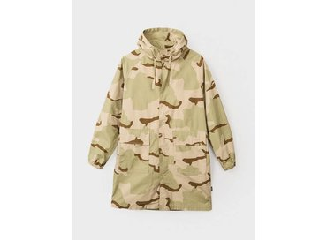 Stussy Light Ripstop Hooded Jacket Camo 115326