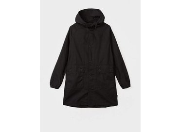 Stussy Light Ripstop Hooded Jacket Black 115326