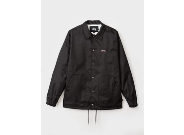 Stussy Spring Coach Jacket Black 115332
