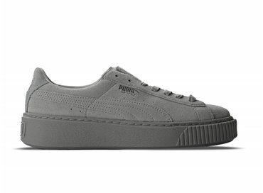 Puma Basket Platform Reset Gray Violet Gray Violet 363313 01