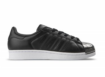 Adidas Superstar Metal Toe W Black Black White BY2883