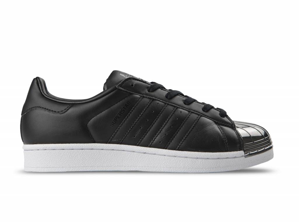 Superstar Metal Toe W Black Black White BY2883