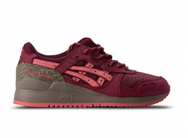 ASICS Gel Lyte III Red Red Trial Pack H7L1L 2626