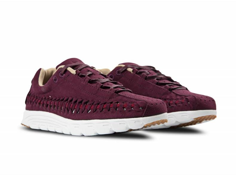 WMNS Mayfly Woven Night Maroon/Noble Red/Summit White 833802 600