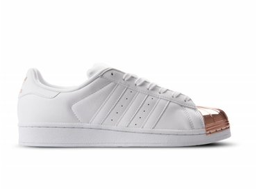 Adidas Superstar Metal Toe White White Copper BY2882