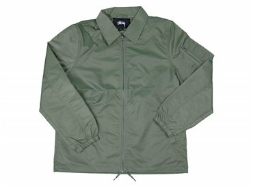 Stussy Flight Satin Coaches Jacket Olive 115331 0403