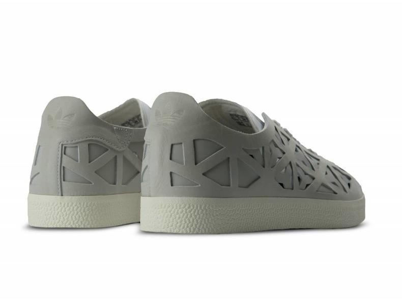 Gazelle Cutout W Footwear White Cream White BB5179