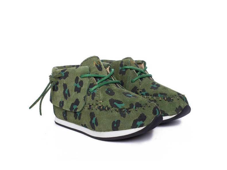 Stone Green Leopard