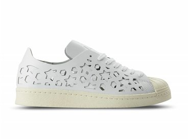 Adidas Superstar 80s Cut Out W Footwear White Cream White BB2129