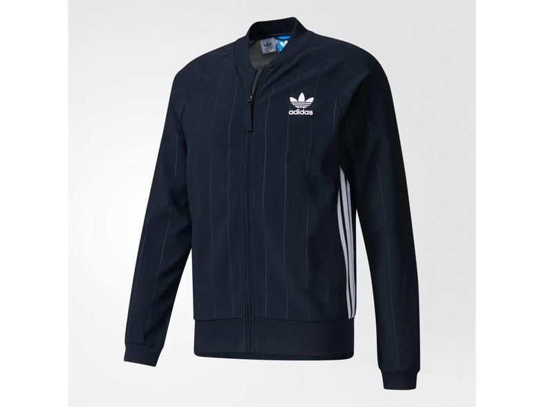 db67ece015e Adidas STT Denim Trainingsjack Legend Ink White BK2227 - Bruut Online Shop  & Sneakerstore