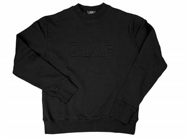 Olaf Hussein Sweater Black SS17-013