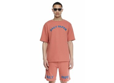 Daily Paper French Terry T-shirt Salmon SS17TS37