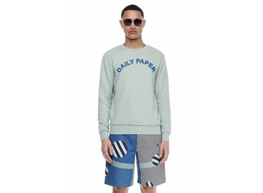 Daily Paper French Terry Sweater Mint SS17T16