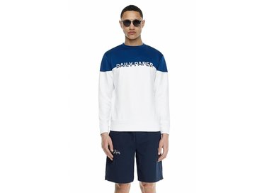 Daily Paper Navy Panel Sweater SS17T02