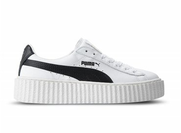 Puma Creeper By Rihanna White Black 364462 01