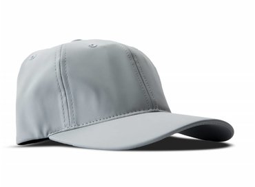 Olaf Hussein Grey Rubber Cap One Size SS17 030