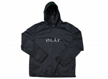 Olaf Hussein Black Anorak SS17 022
