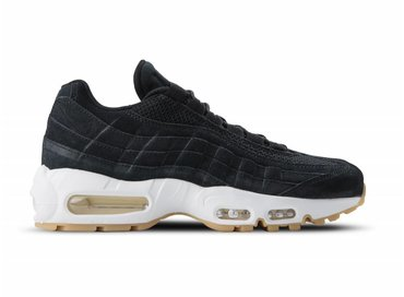 Nike Air Max 95 PRM Black Black Muslin White 538416 004