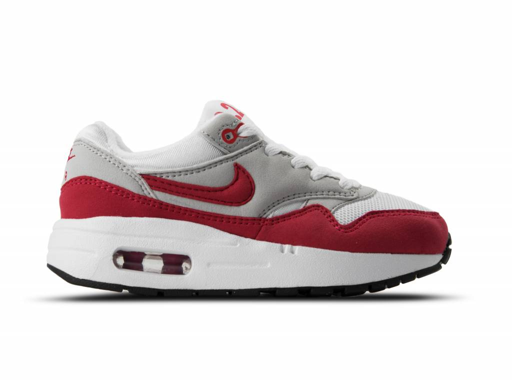 nike air max 1 youth gs rood