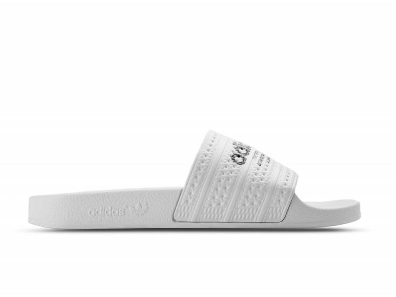 adidas adilette bianco / bianco / nero s78688 nucleo bruut negozio online