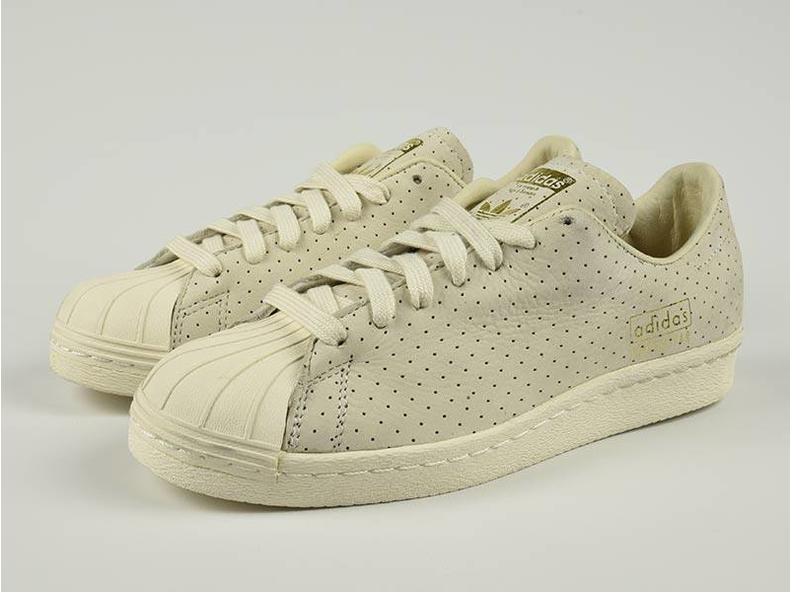 Superstar 80s Clean Chalk White/White/Gold S32025