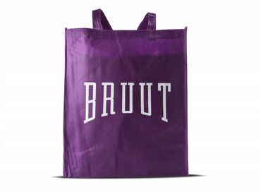 Bruut FREE Totebag Purple/White