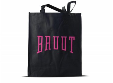 Bruut Exclusive Totebag Black/Pink