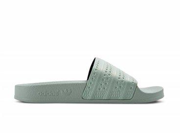Adidas Adilette Linen Green BA7540