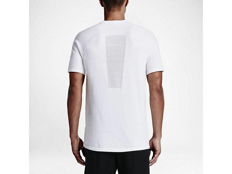 Tech Knit Pocket Tee White/White/Black 729397 100