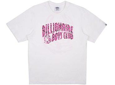 Billionaire Boys Club Leopard Arch Logo T-Shirt White B17247