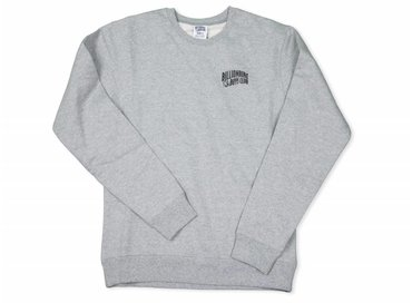 Billionaire Boys Club Small Arch Logo Crewneck Heather Grey B16511
