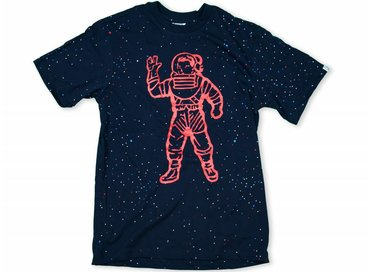 Billionaire Boys Club Galaxy Astronaut T-Shirt Navy B17248