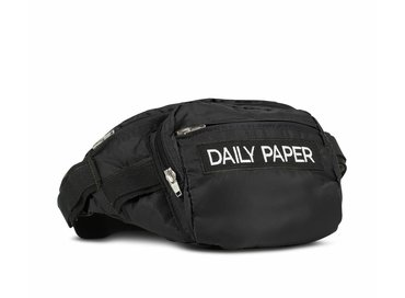 Daily Paper Black Waist Bag