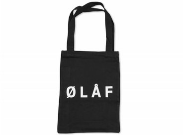 Olaf Hussein Tote Bag Black SS17 040