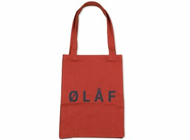 Olaf Hussein Tote Bag Rustic Red SS17 035