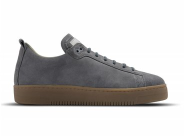 Olaf Hussein The Fundament Sneaker Clay Grey Suede 01-0001