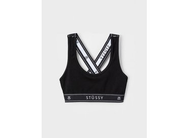 Stussy Cross Back Crop Black 213037 0001