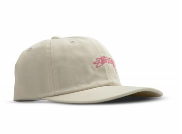 Stussy Smooth Stock Low Cap Cream 131718 1228
