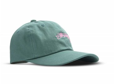 Stussy Smooth Stock Low Cap Green 131718  0401