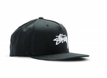 Stussy Stock Cap Black 131706 0001