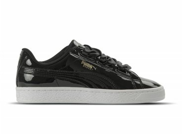 Puma Basket Heart Patent Black 363073 01