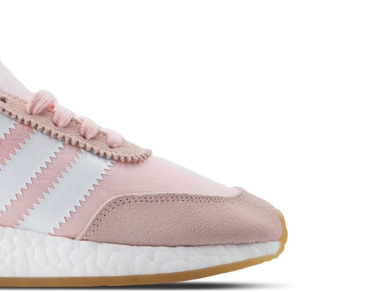Iniki Runner W Pink White BY9094