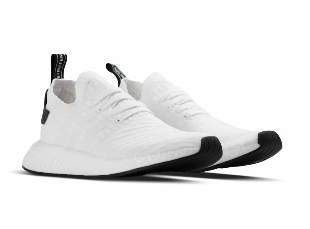 Adidas NMD_R2 PK White Black BY3015