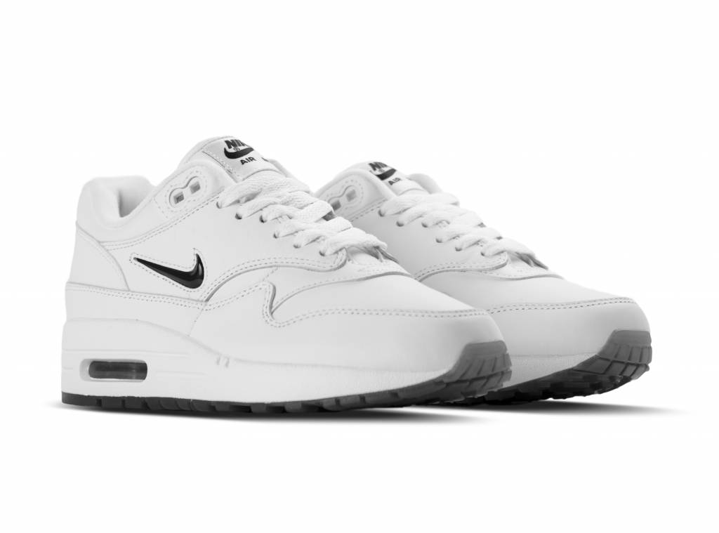 Air Max 1 Jewel White Black 918354 103